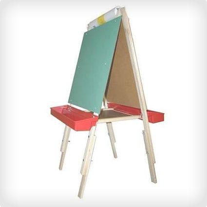 Adjustable Childrens Art Easel