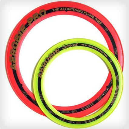 """Aerobie Pro Ring (13"""") and Aerobie Spring Ring (10"""") Set"""