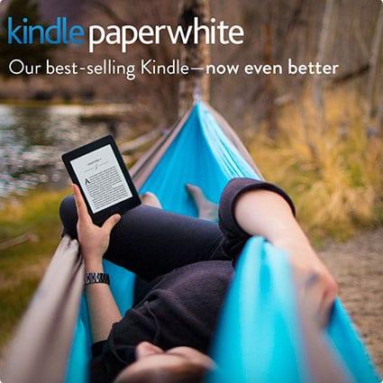 Amazon Paperwhite E-Reader in Black