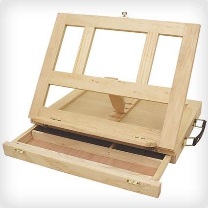Artists Adjustable Desk Box Easel