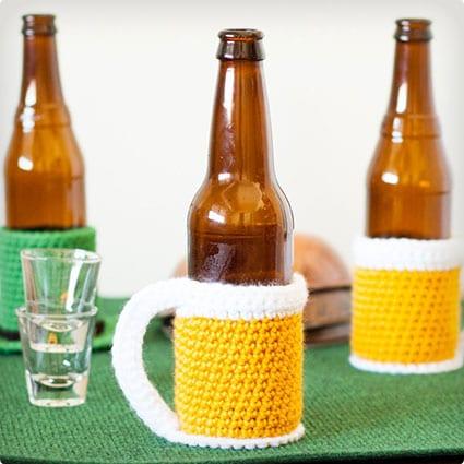 Beer Mug Beer Cozy Pattern