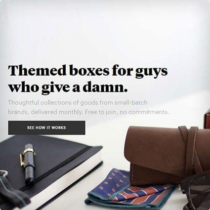 Bespoke Box for Men