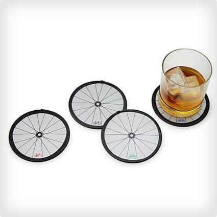 Bike Wheel Coaster