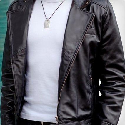 Biker Jacket - Men's Leather Jacket
