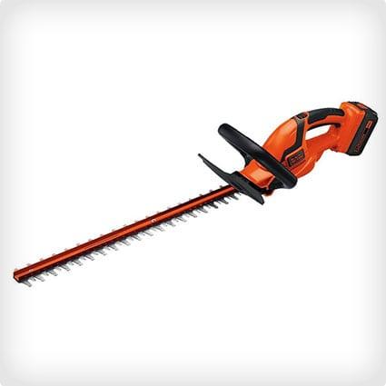 Black + Decker 24-Inch 40-Volt Cordless Hedge Trimmer