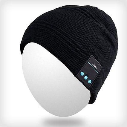 Bluetooth Headset Music Beanie