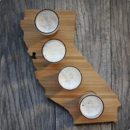 California Beer Flight