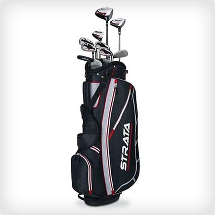 Callaway Men's Strata Komplettes Golfschlägerset mit Tasche