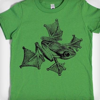 childrens-t-shirt-gliding-frog-shirt