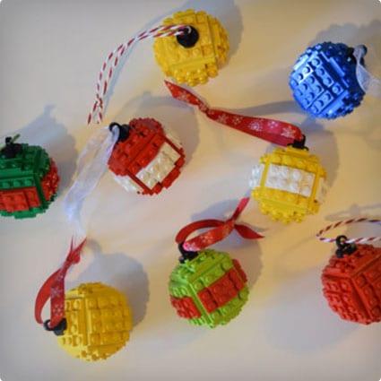 Christmas Tree LEGO Baubles