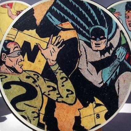 Comic Book Coasters