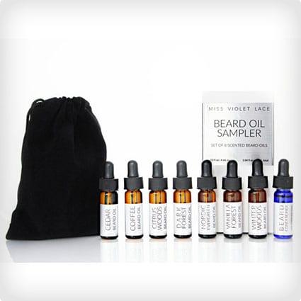 Complete Beard Oil Sampler Set - Set of 8