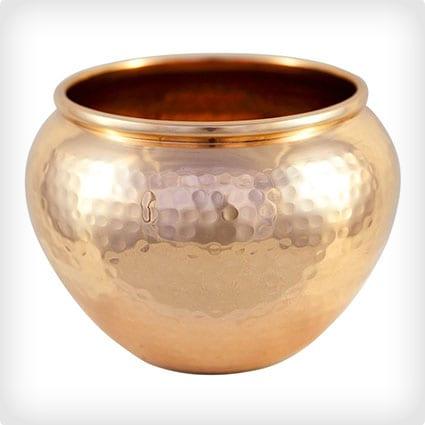 Copper Vase or Pot