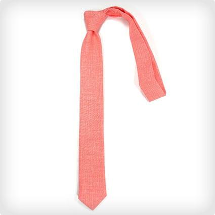 Coral Neck Tie