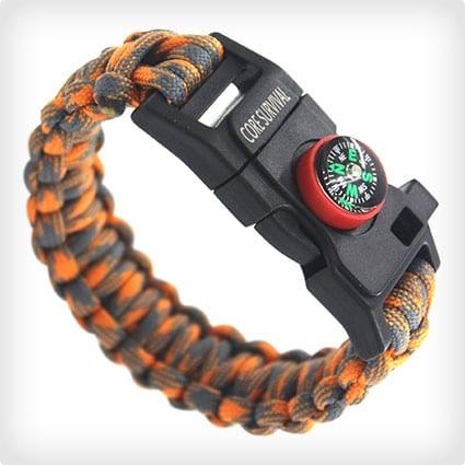 Core Survival Paracord Survival Bracelet