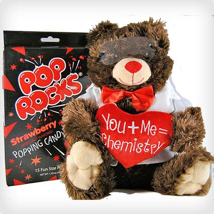 Creating Chemistry Plush Chemist Bear With Pop Rocks