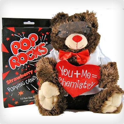 Creating Chemistry Plush Chemist Bear With Pop Rocks