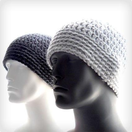 Crochet Pattern - Beanie for Men