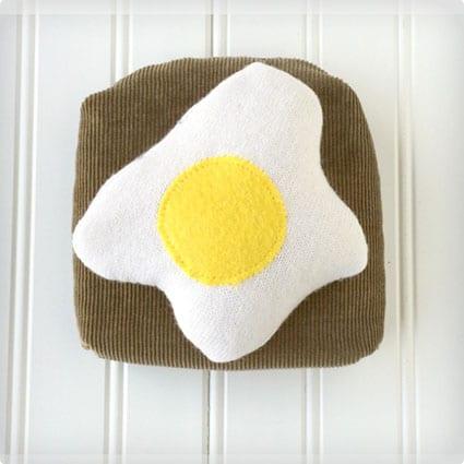 DIY Eggs on Toast Cookbook Weight