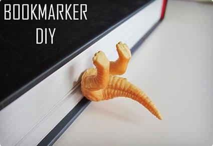 DIY Funny Bookmark