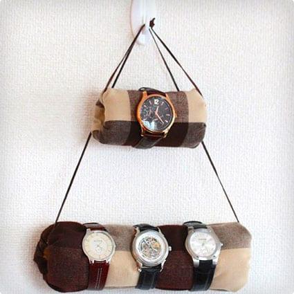 DIY Hanging Watch Holder