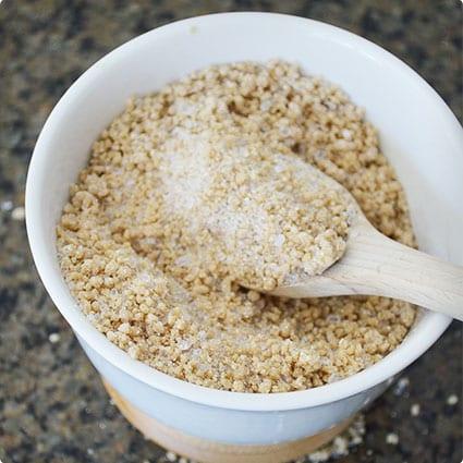 DIY Honey Oat Epsom Salt Soak