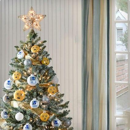 DIY Star Wars Droid Christmas Ornaments