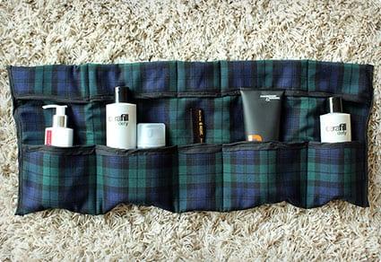 DIY Travel Toiletries Bag