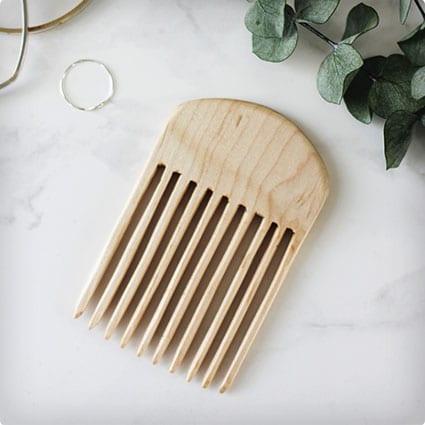 DIY Wooden Comb