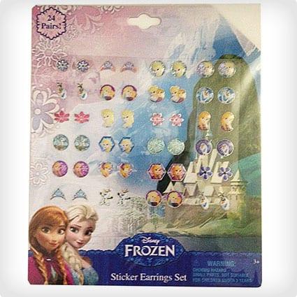 Disney Frozen 24 Pair Sticker Earrings