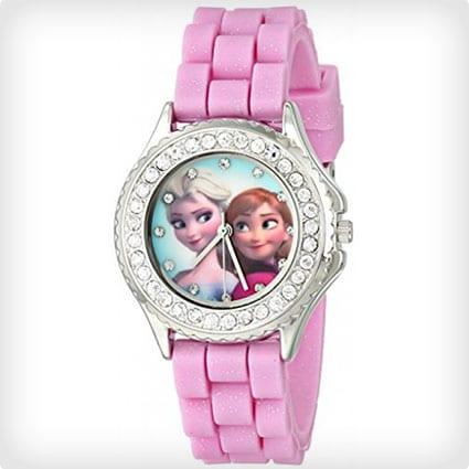 Disney Frozen Anna and Esla Rhinestone-Accented Watch
