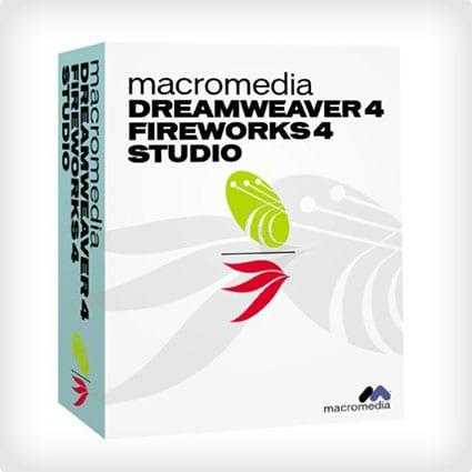 Dreamweaver 4 / Fireworks 4 Studio Software