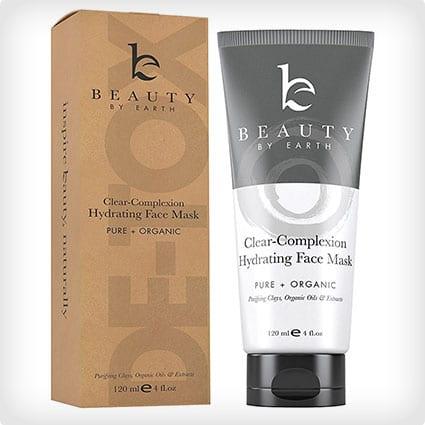 Facial Mask - Hydrating Face Clay Treatment  Natural & Organic