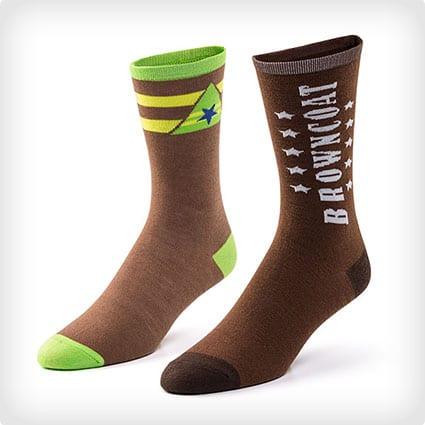 Firefly Browncoat Socks