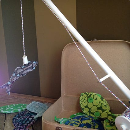 Fishing Pole Play Set with 1 pole