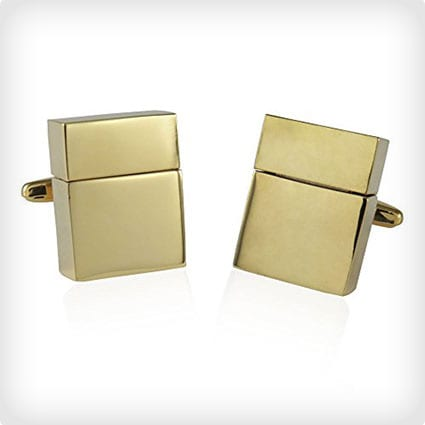 Gold USB Cufflinks (Also available in silver)
