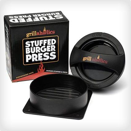 Grillaholics Stuffed Burger Press and Recipe eBook