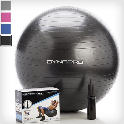 Gym-Quality Exercise Ball with Pump