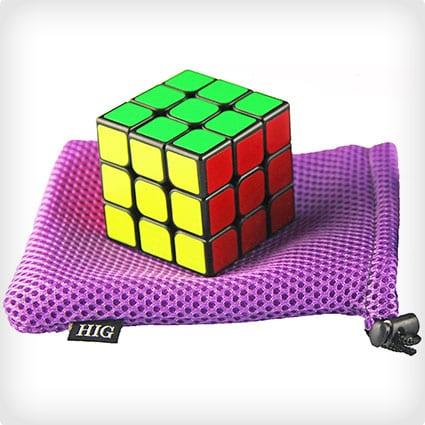 HIG 3 x 3 Rubix Cube - Black