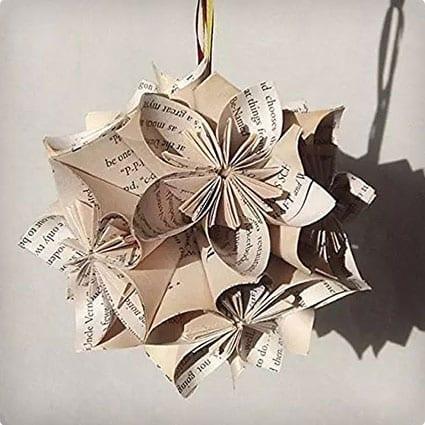 Handmade Harry Potter Origami Ornament