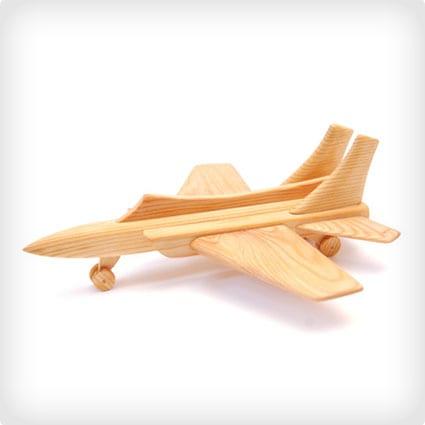 Handmade wooden plane