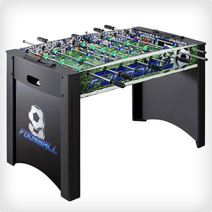 Hathaway Playoff Soccer Table, Black/Green, 4-Feet