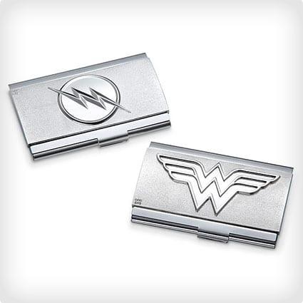 Justice League Business Card Case