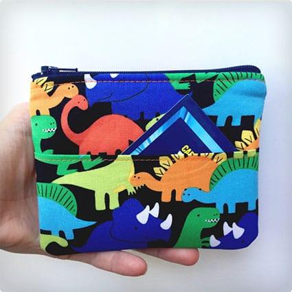 Kids Wallet Dinosaurs