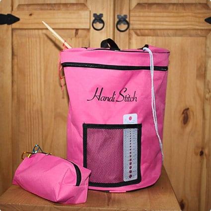 Knitting Bag for Yarn and Wool Storage