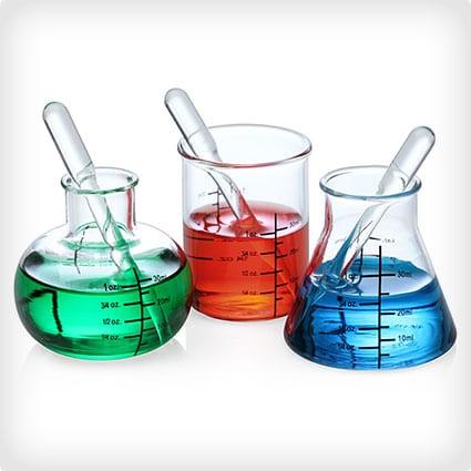 Laboratory Shot Glasses