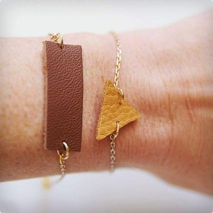 Leather and Golf Bracelets