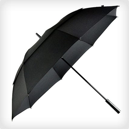 LifeTek Hillcrest 62 Windproof Golf Umbrella