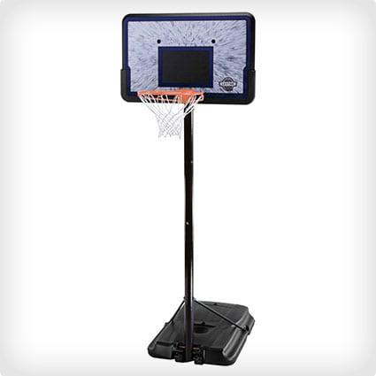Lifetime 1221 Pro Court Height-Adjustable Basketball Hoop