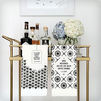 Literary Tea Towel Set